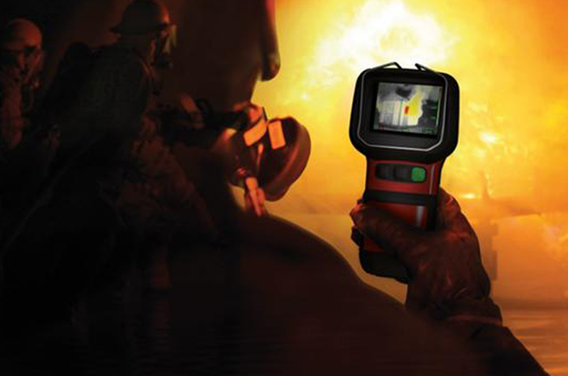 5 otras formas en que los bomberos usan cámaras térmicas