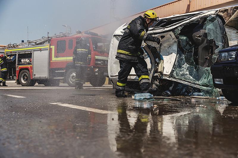 Tiempo de respuesta ante emergencias y respuesta a colisiones viales